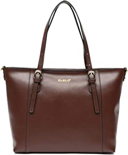 Best large tote leather Reviews