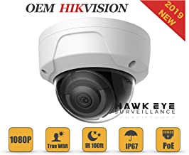 2MP PoE Security IP Camera - Compatible with Hikvision DS-2CD2125FWD-I Dome Indoor and Outdoor Weather Proof EXIR Night Vision, 4mm Lens,Best for Home and Business Security,3 Year Warranty