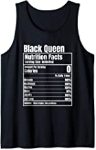 Black Queen Nutrition Facts Tank Top