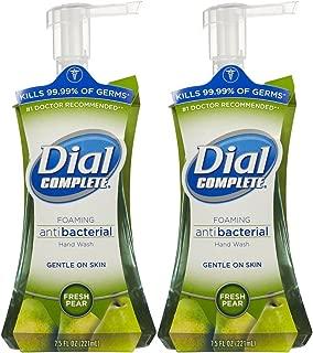 Dial Complete Antibacterial Foaming Hand Wash - Fresh pear - 7.5 oz - 2 pk