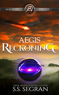 Aegis Reckoning: Action-Adventure Visionary Thriller (Aegis League Series Book 5)