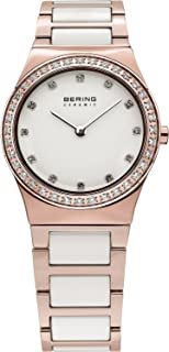 BERING Time 32430-761 Womens Ceramic Collection Watch with Stainless Steel Band and Scratch Resistant Sapphire Crystal. Designed in Denmark.