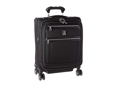 Travelpro Platinum(r) Elite International Expandable Carry-On Spinner (Shadow Black) Luggage