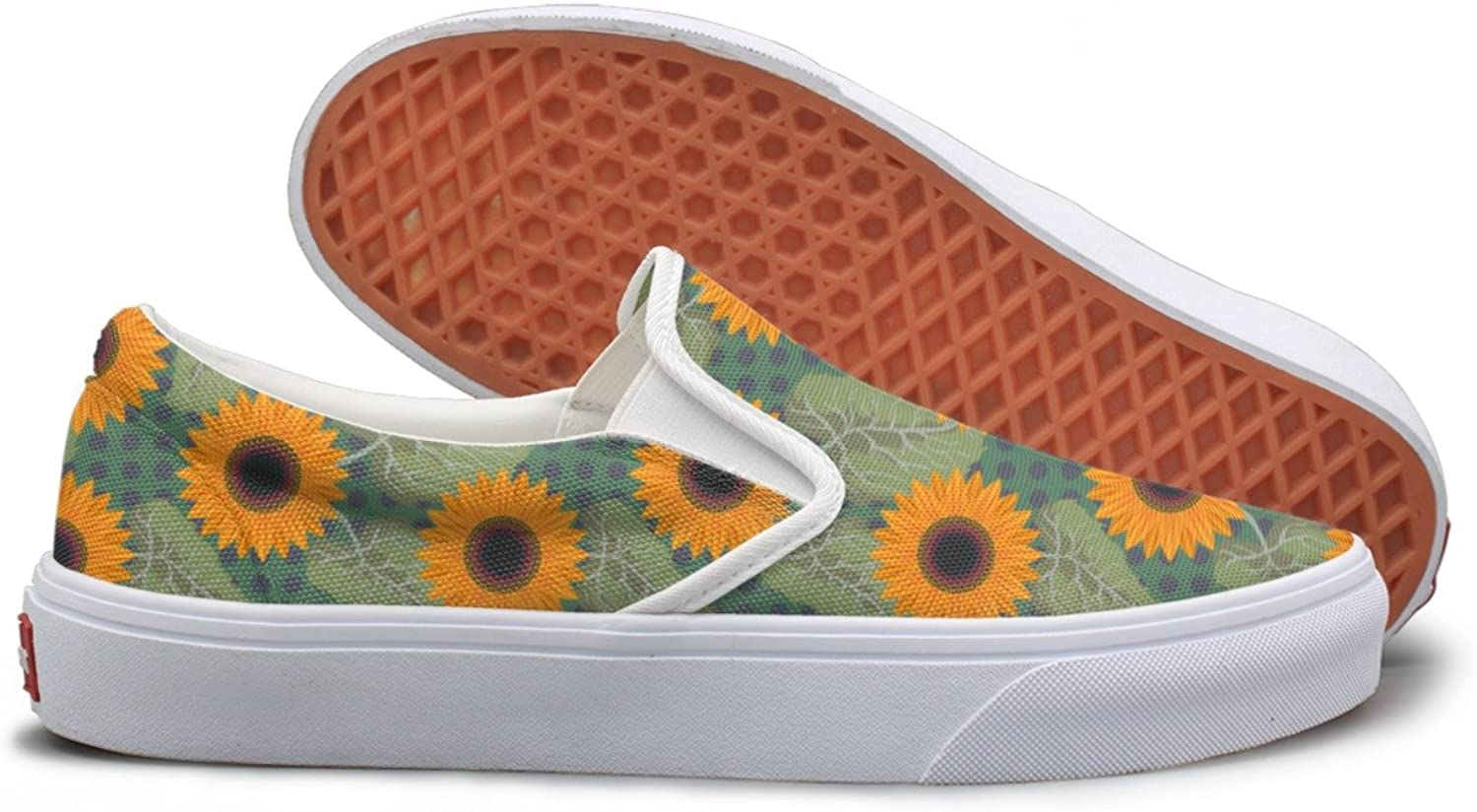 Hjkggd fgfds Casual Graphic Sunflowers Near Me Pretty Women Canvas Sneakers shoes