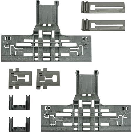 Set Of 2  W10195839 Dishwasher Dishrack Rack Adjuster Clips For Whirlp@@l