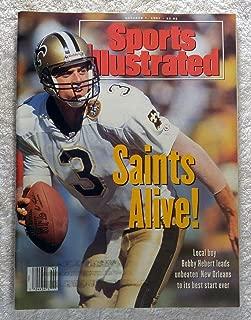 Bobby Herbert - New Orleans Saints - Sports Illustrated - October 7, 1991 - SI