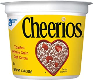 GeneralMills LR/D CEREAL CHEERIOS CEREAL IN A CUP 60 CASE 1.3 OUNCE, 1.3-ounces (Pack of60)
