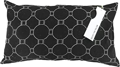 Duck River Textiles Ryder Decorative Pillows, Inserts & Covers, White-Black