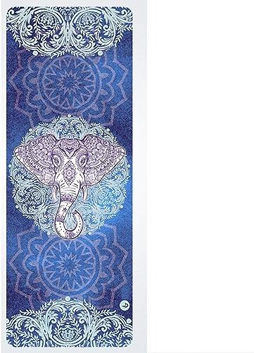 Tapis de Yoga Tapis de Yoga Professionnel en Caoutchouc Naturel Tapis de Fitness Tapis de Yoga Se Pliant Large et Large LJJOZ (Couleur   B, Taille   1.5mm)