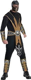 Mortal Kombat Adult Scorpion Costume And Mask