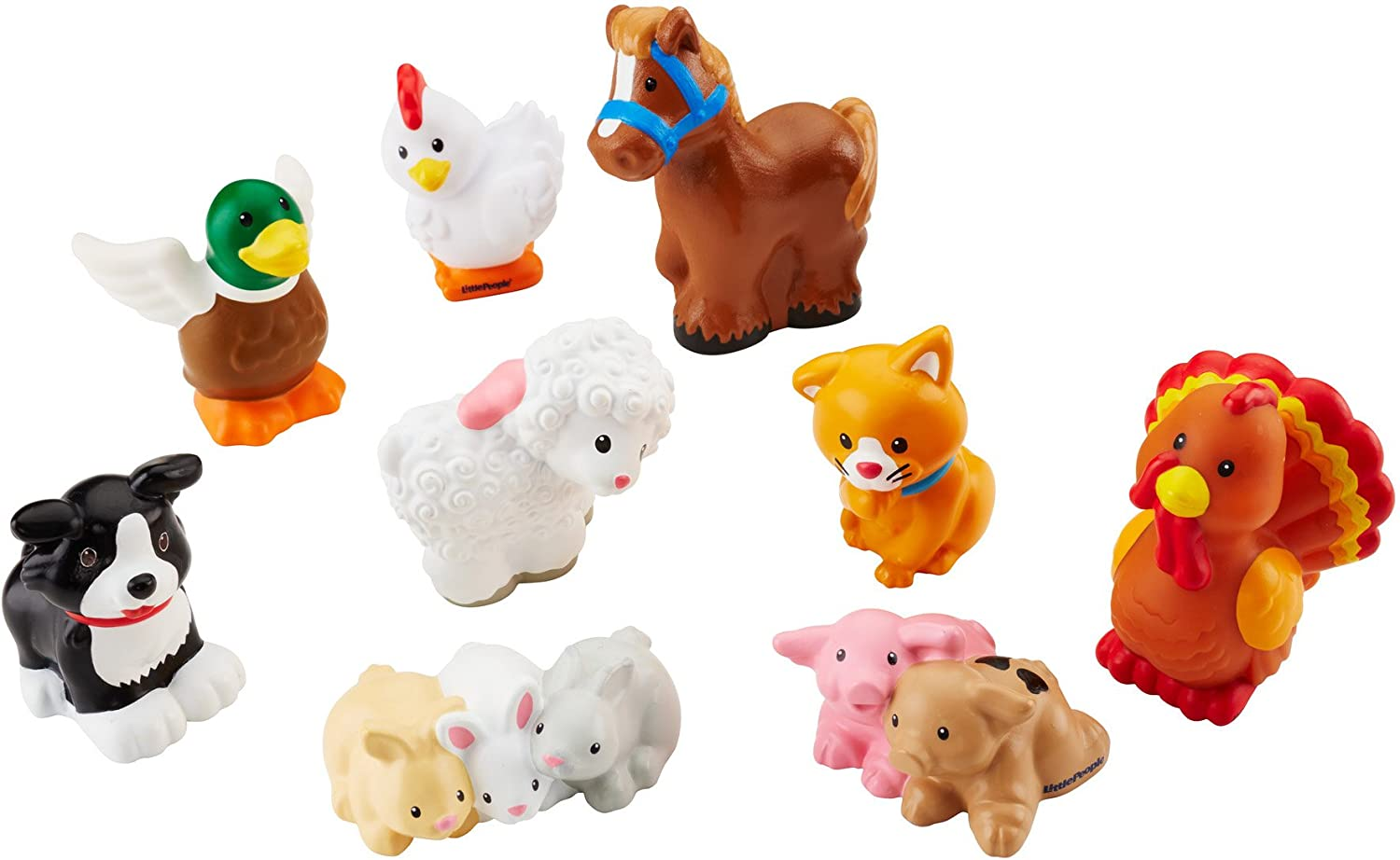 Fisher Price Little People Farm Barn Animals Horse cute figure baby toy gift