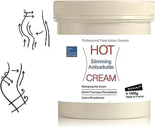 bleu & marine Bretania Crema Hot Anti Celulitis Adelgazante 1000 ml ● Crema TÉRMICA con Algas, Café y Canela