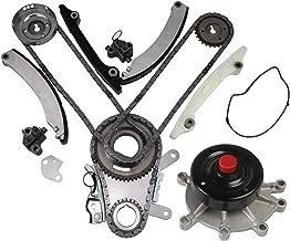 MOCA Timing Chain Kit Water Pump for 2004-2010 Dodge Ram 1500 & Dodge Dakota & Jeep Liberty & Grand Cherokee & Mitsubishi Raider 3.7L V6 SOHC - NGC Cam Gear