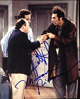 JASON ALEXANDER & MICHAEL RICHARDS SIGNED AUTOGRAPH CLASSIC SEINFELD 8x10 PHOTO