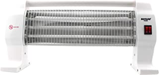 Bastilipo QH-1200 Estufa de infrarrojos-QH-1200, Blanco, 54 X 13 X 26 Cm