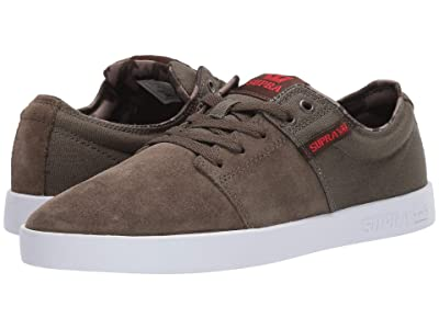 Supra Stacks II (Olive/Demitasse/White) Men