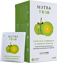 NUTRATRIM – Slimming Tea Metabolism Tea – Aids in Weight Loss and Digestion Controls Sugar Cravings – 40 Enveloped Tea Bags – by Nutra Tea – Herbal Tea – 2 Pack Estimated Price : £ 11,99