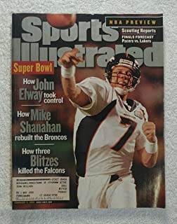 John Elway - Denver Broncos - Super Bowl XXXIII Champions! - Sports Illustrated - February 8, 1999 - Atlanta Falcons - SI