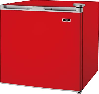 RCA RFR160-Red Fridge, 1.6 Cubic Feet, Red