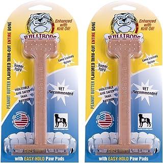 استخوان نایلونی اسباب بازی Bullibone نایلون سگ - بهداشت دندان را بهبود می بخشد ، به راحتی در پایین چسبیده و با طعم نفوذ می کند
