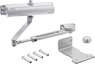 Left Handed Sex Nut Painted Aluminum Finish Stanley Commercial Hardware Commercial Extra Duty Hold Open Arm Door Closer from the QDC100 Collection