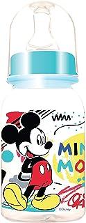 Disney - Baby Feeding Bottle 5oz, 0+ Months, 125ml - Mickey Mouse