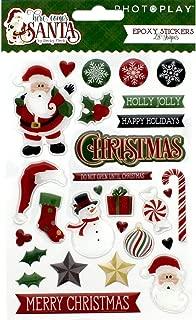 Here Comes Santa - Epoxy Stickers - PhotoPlay