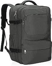 Hynes Eagle 44L Carry on Backpack Flight Approved Compression Travel Pack Cabin Bag, Grey-2018