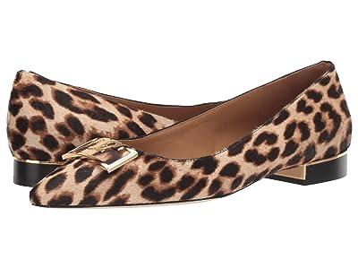 Tory Burch 20 mm Gigi Pointy Toe Flat (Leo) Women