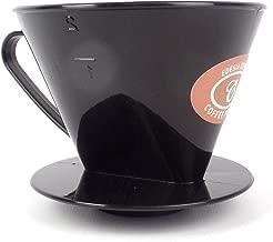 Size 2 Plastic Coffee Filter Dripper Cone by EDESIA ESPRESS