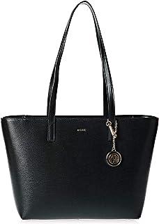 DKNY Chain Sutton Tote Bag Black/Gold