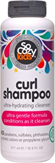 SoCozy Curl Shampoo | For Kids Hair | Ultra-Hydrating Cleanser | 10.5 fl oz | No Parabens, Sulfates, Synthe...