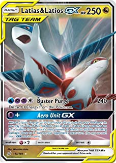 Latias & Latios GX - 113/181 - Ultra Rare - Team Up