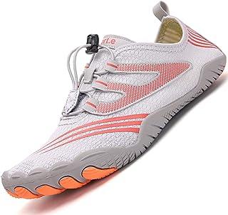 comprar comparacion Topwolve Escarpines para Hombre Barefoot Respirable Zapatos de Agua Secado Rápido Antideslizante Zapatos de Playa para Dep...