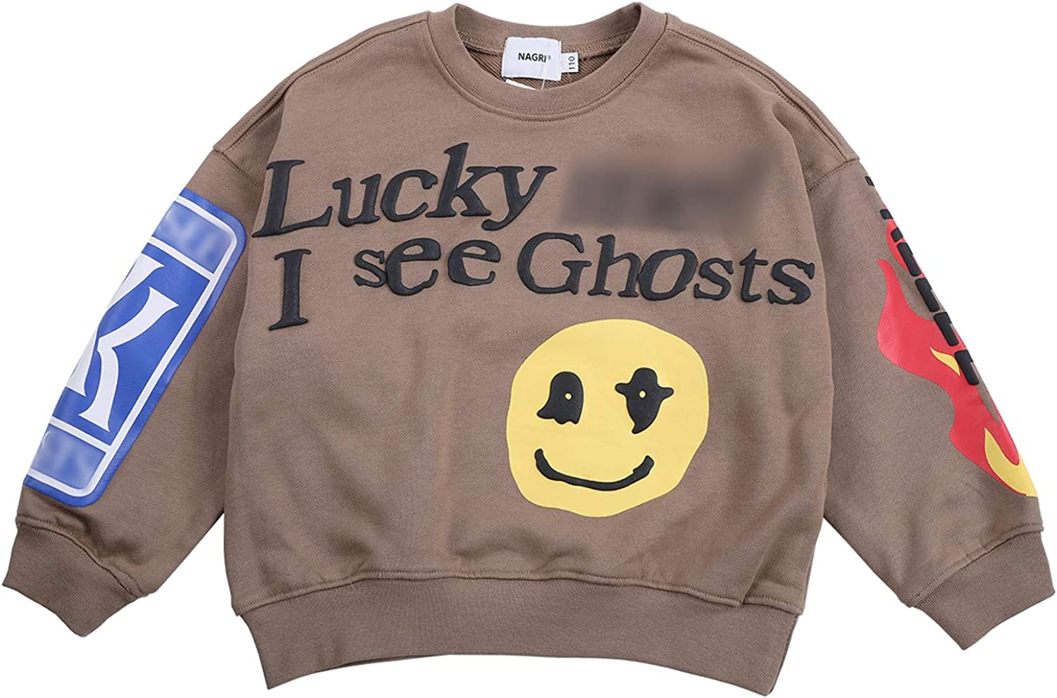 Keruimeihao666 Kanye Lucky Me I Crewneck New Orleans Mall See Sweatshirts New life Ghosts