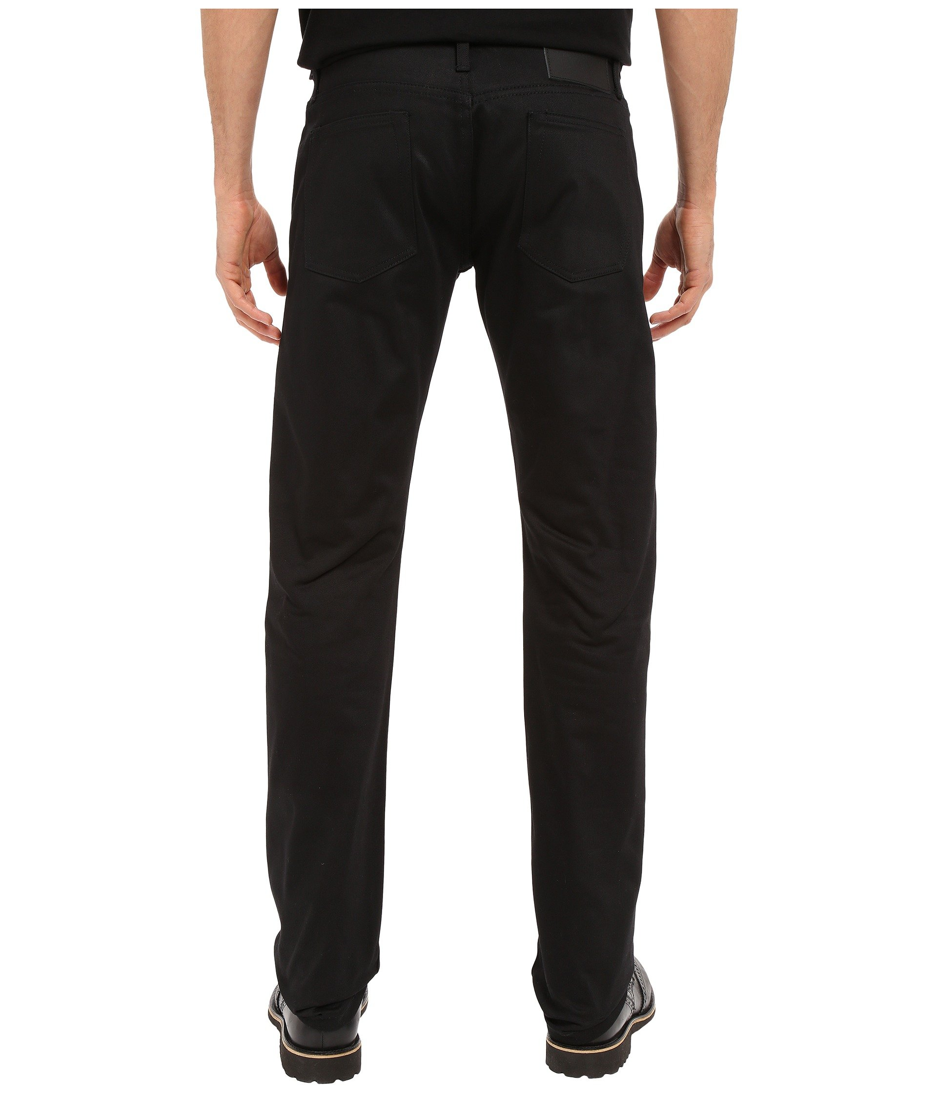 The Unbranded Selvedge Tapered In Brand Black Chino wwdqSvr7n