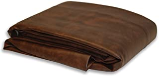 Empire USA Deluxe Dark Brown Fitted Leatherette Pool Table Cover 7ft 8ft 9ft