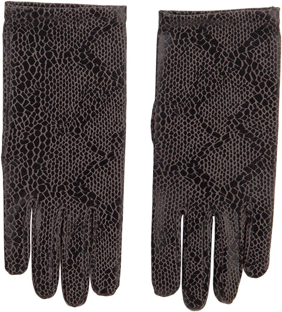 Women's Python Print Glove