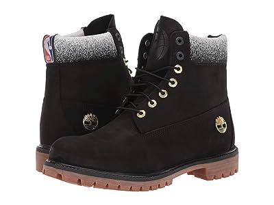Timberland Toronto Raptors 6 Premium Waterproof Boot (Black Nubuck) Men