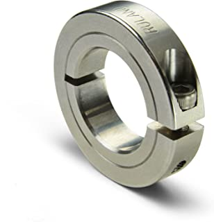 0.500 x 0.375 Bores Ruland DCD16-8-6-A Aluminum Disc Coupling Double Disc Clamp Style 1.000 OD
