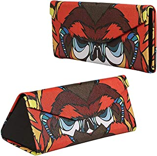 FF1 Hard Shell Foldable Portable Eyeglass Case Glasses Case