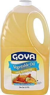 Goya Foods Vegetable Oil, 128 Fl Oz (Pack of 6)