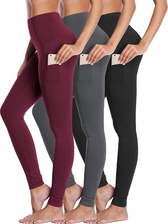 Neleus Women's Yoga Popular standard Leggings Tummy Pants Control Workout 5 ☆ very popular