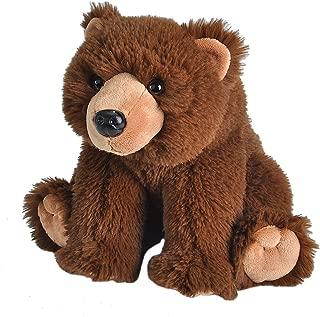 Wild Republic Brown Bear Plush, Stuffed Animal, Plush Toy, Gifts for Kids, Cuddlekins 12 Inches