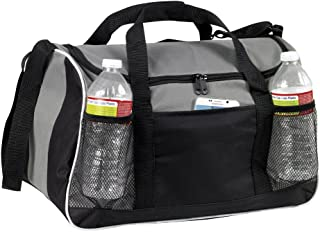 "Duffle Bag, 17"" Small Travel Carry On Sport Duffel Gym Bag."