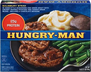 Hungry-Man Salisbury Steak, 16 oz (frozen)