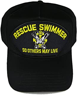 Armed Forces Depot Rescue Swimmer So Others May Live Baseball Cap. Navy Blue. Made in USA