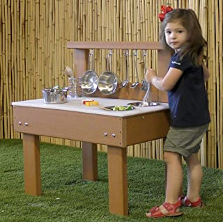 Kids' Station Indoor/Outdoor Toddler Kitchen