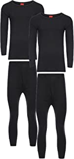 Heatwave® Pack of 2 Men's Extreme Thermal Underwear Set, Long Sleeve Top & Long Johns Set, Winter Thermals