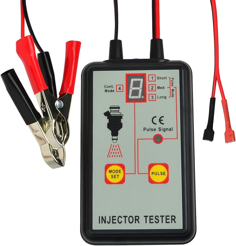 Automotive Fuel Injector Tester 12V Handheld Modes Pulse Ranking TOP4 4 Reservation Car